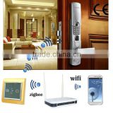 Tianjin TAIYITO Advanced domotica smart home automation system Zigbee HA smart home remote control door lock system
