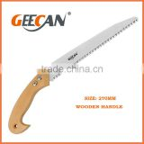 high carbon steel wooden handle manual saw