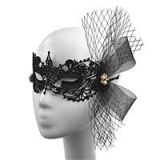 Women's Mask 01 for Christmas Party Costume Halloween Dance Party Sexy Lace Mesh Party Queen
