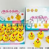 Jumping chicken cartoon wind up toy