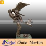 outdoor decoration bronze man and woman statue NTBH-S796X