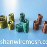 Color high temperature alloy stainless steel screw wire thread inserts