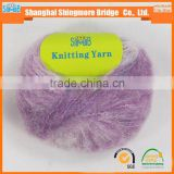 hot selling mohair yarn for hand knitting sweater and scarf with cheap price