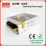 25w power supply 12V 2A led driver with CE ROHS certificates
