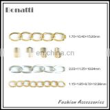 aluminum chains for handbag
