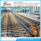 Aluminium Extrusion Industrial Profiles And Round Tubes Line Handling Equipment