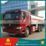China Goods Wholesale SINOTRUK 15CBM Box dimension 80km/h Max speed 6*4 export semi trailer tank truck