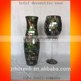 Color Mosaic Elegant Handmade Hotel Decorative Vase