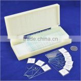 100pcs human histology microscope prepared slides from factory
