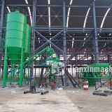 HZS35 concrete mixing plant can produce at least 25m³