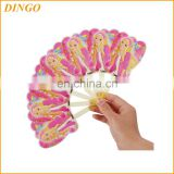 PP Hand fans factory promotional handfan with handle