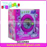 MINI washer toys household appliance toys with light and IC