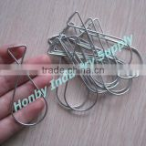 Squeeze 8 Shape Wire Metal Ceiling Grid Hanger Clips