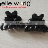 Wholesale Small Size Plastic Black Hair Claw Hairpin Accessories Kids