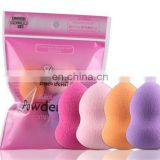 4PCS Makeup Sponge Puff Powder Wet And Dry Puff Smooth Make Up Cosmetic Sponges