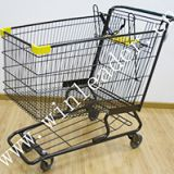 American style supermarket 280L shopping cart trolley for sale