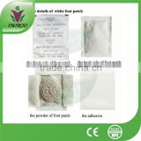 Jungong Bamboo Green Tea Detox Foot Patch with CE,CE certificate detox patch detox foot patch ,korea detox foot patch