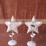 Metal Star Shape Candle Holder,Designer Candle Holder,Metal Candle Holder