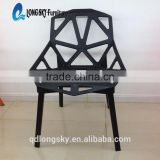 LS-4003 Wholesale Modern high quality Indoor and Outdoor Furniture PP dining chair plastic garden chair