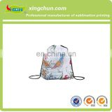 Funny cheap custom printing drawstring bags