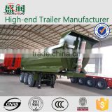 Cheap tractor and atv hydraulic dump semi trailers