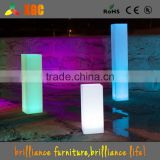 LED lighting pillar candle, glowing pillar design, led illuminated square pillar design