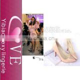 The sweet pointed high-heeled shoes