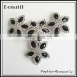 rhinestone and crystal shoe accessory