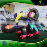 Colorful Custom Sexy Inflatable Black Toothless Dragon Hongyi Toys