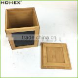 Bamboo Canister Set For Coffee Tea Sugar Homex BSCI/Factory