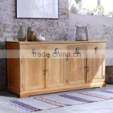 Sideboard AMSTERDAM HOLLAND 4 doors reclaimed teak wood furniture