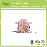 Customized polyester china drawstring bags