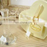 Crystal Cross in Satin Lined Heart Box Favors