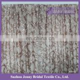 BCK#73 fancy christmas wedding rose gold sequin wedding backdrops for sale