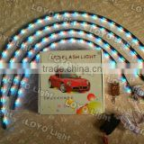 led under car kit <b>light</b> 7-Colors LED <b>Neon</b> Strip Underbody under car led <b>auto</b> <b>light</b>