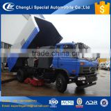 hot sale good quality chengli new truck mounted sweeper with 2.5m3 water 6m3 dust