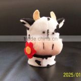 customized top quality pen container ,cute cow style pen container