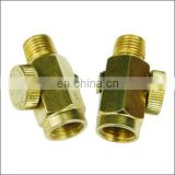 "SAR Solid Brass Compressed Air Pressure 1/4"" NPT Inline Regulator"