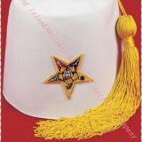Fez wool cap  / Turkish Cap  / Fez  cap / wool cap  /  Muslim  Wool Cap / Turkey wool cap