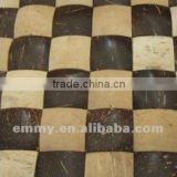 Natural Hainan coconut mosaic wall tiles