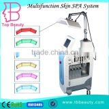 new design professional 7 in 1 nova microdermabrasion skin whitening mesotherapy gun to inject