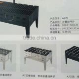 RH-B01 Portable folding BBQ Barbecue charcoal Stove Oven Grills