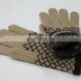fashion mens knitted gloves (JDG-001 col.01#)