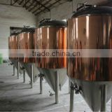 4BBL beer equipment, beer plant, boiling kettle, whirlpool tank, brewing system, Stainless steel jacketed bright beer tank
