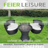 FEIER A6023CH Unique Outdoor Rattan Dining Desk