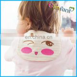 Hot Sale Infant Cartoon Baby Sweatbands Super Soft cloth absorb sweat keep baby back dry