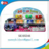 cheap plastic toy cars pull back car mini car toy with high quality