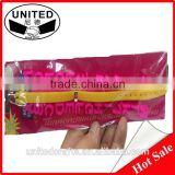 Latex free Lowest price rubber message snap bands
