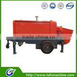 New condition and diesel power small portable concrete pump