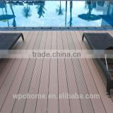 Longlife Waterproof crack-resistant anti-slip Wood Plastic Composite/WPC Outdoor Decking